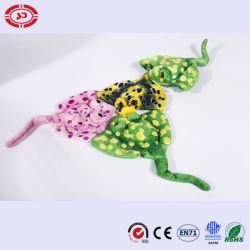 녹색 가오리 대양 물고기 장난감 선물이 연약한 Keychain 견면 벨벳에 의하여 농담을 한다