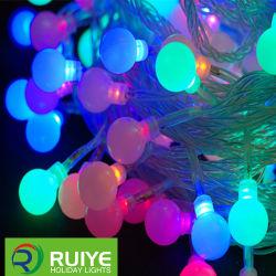 RGBの休日ストリングライト屋内クリスマスの装飾