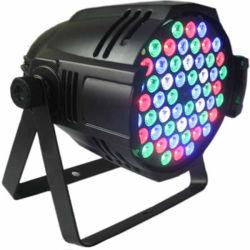 54*3W RGBW farbenreiches Disco-Licht NENNWERT Licht für Stadiums-Licht-Partei-Abteilungs-Disco
