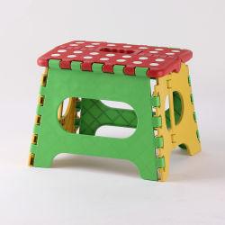 Novo design do Banco Dobrável de plástico piquenique coloridos para crianças
