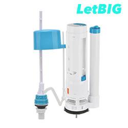 Установка клапана промывки туалет туалет регулируемый объем воды