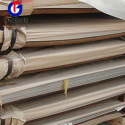 ASTM A240 de alta qualidade 310S Placa de aço inoxidável