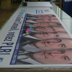 Solvente pvc flexible de PVC de publicidad bandera Signos imprimir