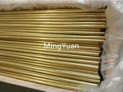 Fabricante de 20 años Astmb 135 1mm 2mm de tubo de intercambio de calor C27000 Cuzn35 C2700 ronda perfecta con el precio de fábrica del tubo de latón