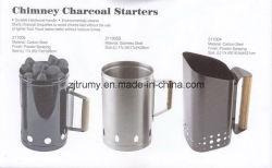 La mano del acero carbón chimney starter