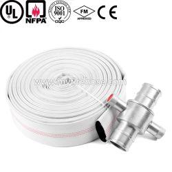 Prezzo del tubo di combattimento dell'idrante antincendio della tela di canapa del PVC da 2 pollici