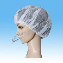 Bouffant disponibles friegan los sombreros/las redes de pelo disponibles para el servicio de alimento