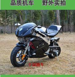 Los niños de 2 tiempos moto 49cc Mini Kid Pocket Bike tirar de motor de arranque Mini Kid Pocket Bike