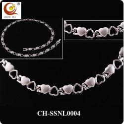 Мода магнитной энергии бриллиантовое ожерелье из нержавеющей стали
