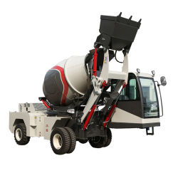 High Quality Self-Loading Portable Concrete Mixer Truck Te Koop