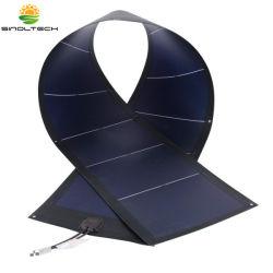 78W 12V Rollable гибкие солнечного зарядного устройства комплект с проушинами для простого крепления (PVL-78)