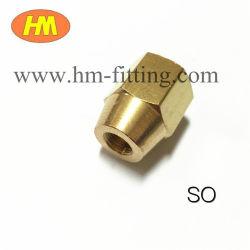 Noce d'ottone del chiarore dell'accessorio per tubi del sindacato d'ottone del riduttore