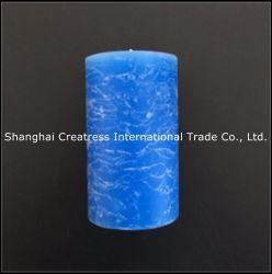 Perfecta en la mano de obra barata de patrón de mármol de color azul brillante Pilar Vela extra grande