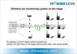 Переносная беспроводная система мониторинга уха для этапа