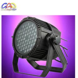 IP65 LED 스테이지 조명 54 * 3W 방수 LED 파 캔
