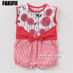 Швейное производство Fakifii малыша одежду детей одежды новорожденных Младенческая полосой Romper Kid одежда из хлопка