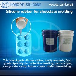 Cure de platine pour la cuisson de la fabrication de moules en silicone