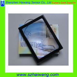 Het ultra Slanke Rechthoekige Handbediende Vergrootglas van de Lezing Magnifier