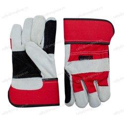 Кожаный чехол для рук усиленные короткое замыкание сварщика перчатки