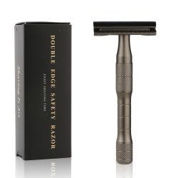 Оптовая торговля Роскошный экологически безопасные парикмахерская прямо сменные новый бритвенный нож безопасности предельно