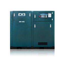 Puissance de la vitesse de fréquence variable/fixe entraîné directement la vis du compresseur à air avec ce certificat ISO 100-1200cfm/100-200psig simple/double type compresseur à air rotatif