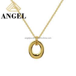 مجوهرات الموضة البسيطة 925 فضة أو نحاس عالية الجودة أزياء للفتيات