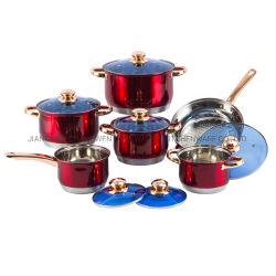 En acier inoxydable Ustensiles de cuisine Set de cuisson à induction pot avec poêle à frire