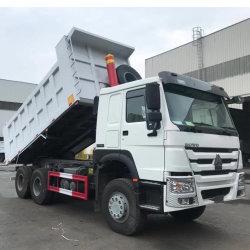 سعر المصنع الجديد سينوتروك 6X4 عجلات 371HP Mining Tipping شاحنة تفريغ Tipper Dumper وشاحنات HWO المستخدمة تفريغ شاحنة للبيع