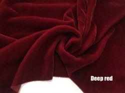 Высокое качество 65111 шелковые ткани шелк бархат 18% шелк +82% вискоза 114см 140 см