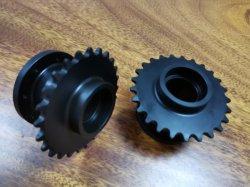 Engineering Metall Kunststoff-Teile Rapid Machining Kleine Mini Micro Worm Gear Set. Professionelle kleine Stahlzahnradschneidteile CNC-Bearbeitungsteile Fabrik