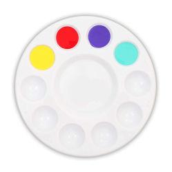 """50601 플라스틱 화이트 워터 컬러 컵 페인팅 아티스트 팔레트, 3"""", 2pcs W/UPC 스티커"""