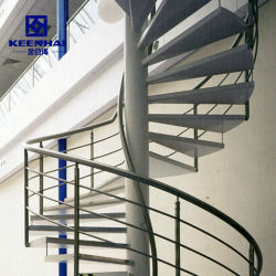 Настраиваемые современный дизайн внутренних дел по месту жительства металлической спиральной лестницей