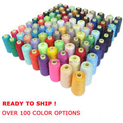 Высокое качество шитья поток 40/2 100% полиэстер швейных поток