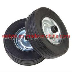 Hoogwaardig hijsjoes massief rubberen PU-wiel Schuimwiel voor Europese markt (220X65)