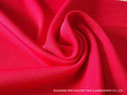 Polyesterspandex-Pikee-Ineinander greifen-Gewebe für Polo-T-Shirts Sportwear