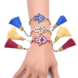 Mlgm Eye Bracelets للمرأة البوهيمية مجوهرات أزياء 2021 [بوهو] [همسا] يد [لككي] عيون مجوهرات [إيميتيون] يد [وافون] جيّدة الجودة العجة بالجملة