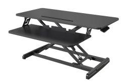 V-Mounts Standing Desk Convert Desktop Riser للكمبيوتر المحمول مع لوحة المفاتيح درج VM-Gsd68h-1