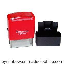 Impresora de sellos de goma&Office Max Sello&auto personalizado sello entintado