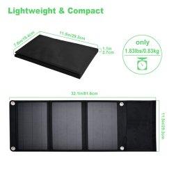 21W pliable chargeur solaire Chargeur solaire portable pour ordinateur portable