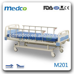 区の看護装置2のクランクの手動病院用ベッド手制御M201