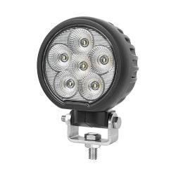 La CEPE aprobó 4 pulgadas de la Ronda de 60W LED de Osram Tractor lámpara de trabajo de luces con soportes giratorios