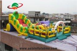 Гигантские змеи надувной батут игровая площадка с