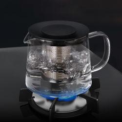 Comercio al por mayor de material de vidrio Vidrio de borosilicato tetera cafetera té termo
