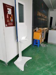 Chiosco del prodotto disinfettante della mano dell'erogatore di risanamento di Auoto con 21.5inch che fa pubblicità agli schermi