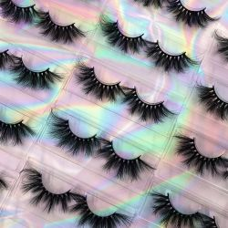 سعر الجملة ملصق خاص 25 مم تمديد العين ثلاثية الأبعاد العين شعار مخصص