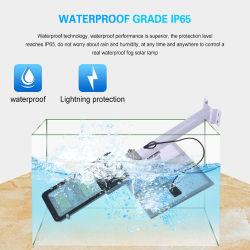 Lumens alta IP SMD65 piscina impermeável 100W 200W 300W LED Solar Lâmpada de Rua