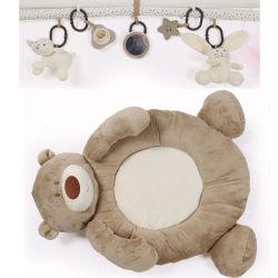 Baby Soft Large Play Mat Game Rug attività educativa di crawling Gioca Gym Bambini coperta Plush Giocattoli Orso 0-1 mesi