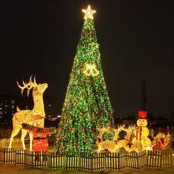 Gigante artificial 30FT levou 3D Motif Árvore de Natal Mall interior e exterior