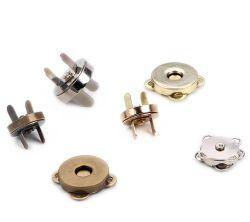 Botão de encaixe magnético botão magnético para bag bolsa caso sala magneto redonda