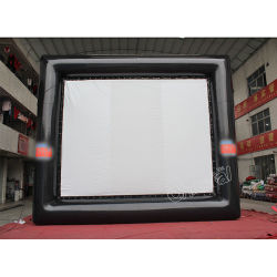 Custom Logo Light Pvc Material Inflatable Movie Screen Te Koop